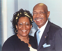 Retired LTC John R. Ware II and his lovely wife, Barbara